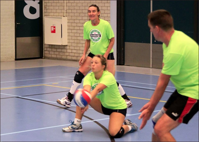 kneedrop-volleybal